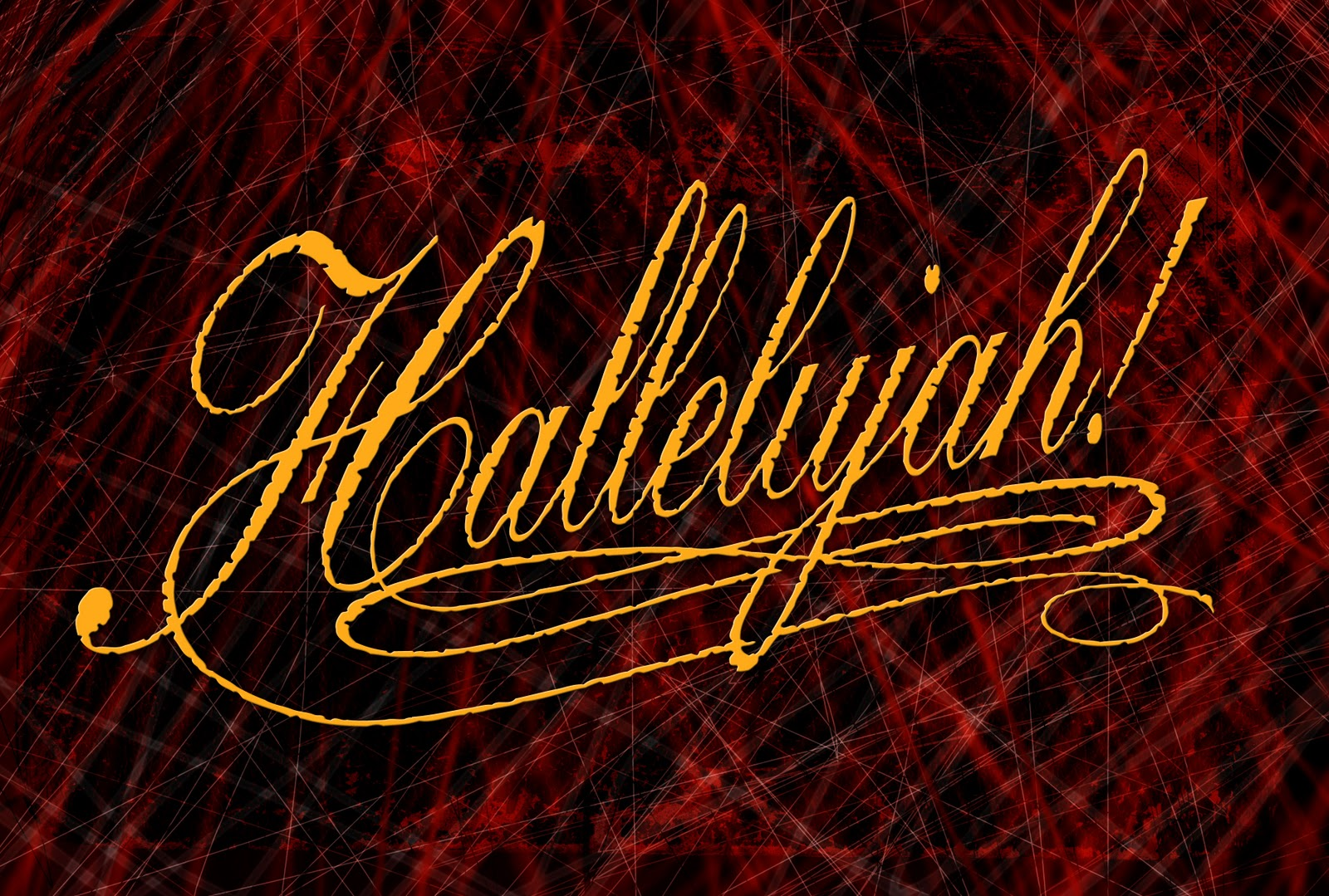 Hallelujah You're Worthy To Be Praised!