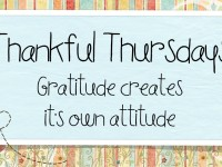 ♥ Thriving on this Thankful Thursday! ♥